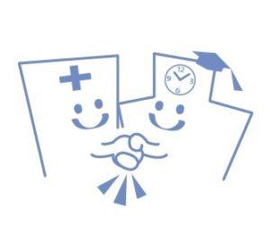 大学と病院の連携イメージ
