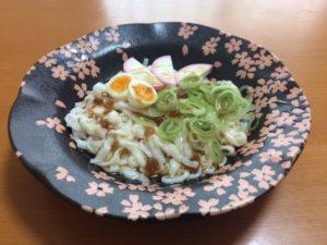 糖質ゼロカロリーオフ麺稲庭うどん盛り付け写真