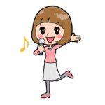 歌うアイドル1