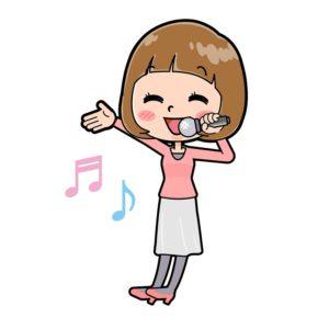 歌うアイドル2
