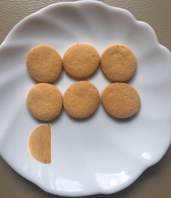 クッキー6.3個分