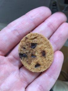 チョコチップクッキーの裏
